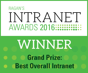intranet32 win GP QuintilesIMS awarded 2016 Best Overall Intranet